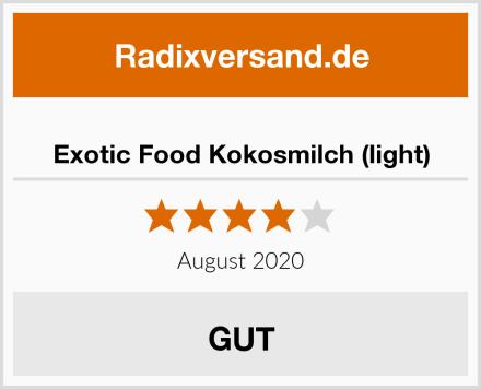 Exotic Food Kokosmilch (light) Test
