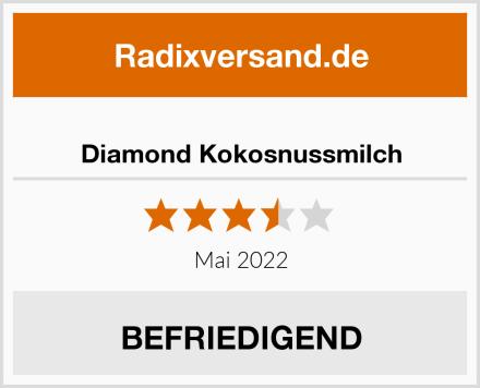 Diamond Kokosnussmilch Test