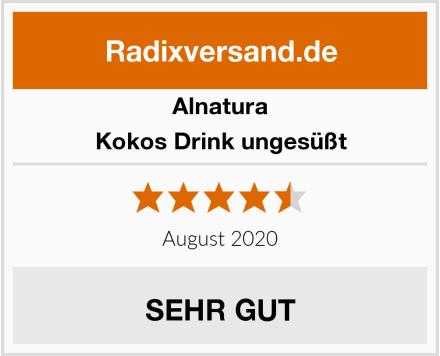 Alnatura Kokos Drink ungesüßt Test