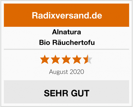 Alnatura Bio Räuchertofu Test