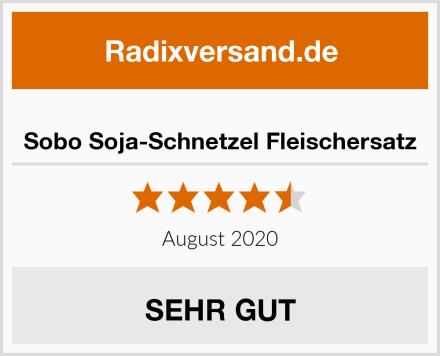 Sobo Soja-Schnetzel Fleischersatz Test