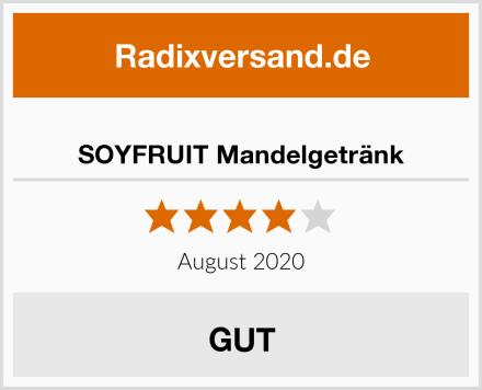 SOYFRUIT Mandelgetränk Test