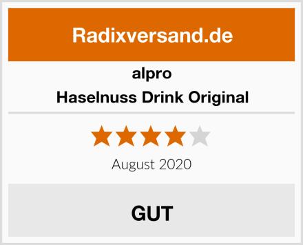 Alpro Haselnuss Drink Original Test