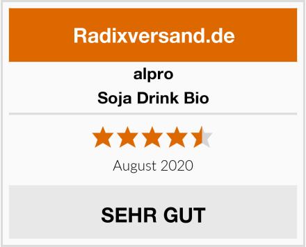 Alpro Soja Drink Bio Test