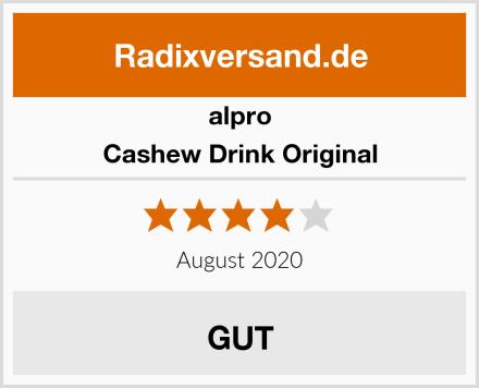 Alpro Cashew Drink Original Test