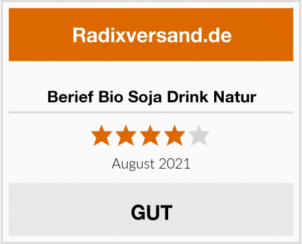 Berief Bio Soja Drink Natur Test
