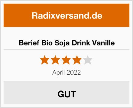 Berief Bio Soja Drink Vanille Test