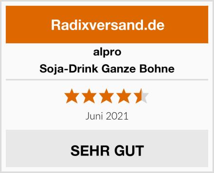 Alpro Soja-Drink Ganze Bohne Test