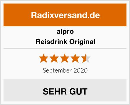 Alpro Reisdrink Original Test