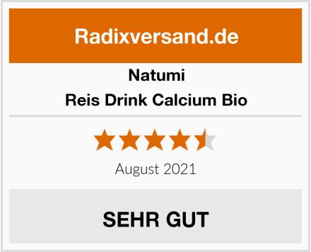 Natumi Reis Drink Calcium Bio Test