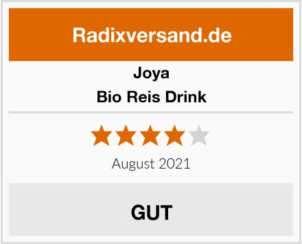 Joya Bio Reis Drink Test