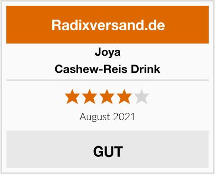 Joya Cashew-Reis Drink Test