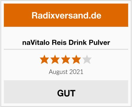naVitalo Reis Drink Pulver Test