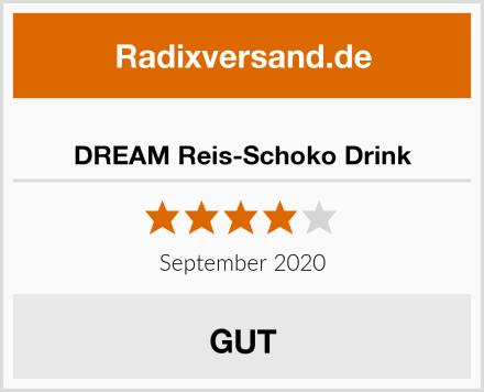 DREAM Reis-Schoko Drink Test