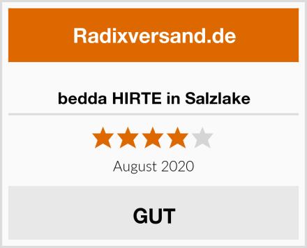 bedda HIRTE in Salzlake Test