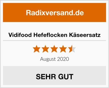 Vidifood Hefeflocken Käseersatz Test