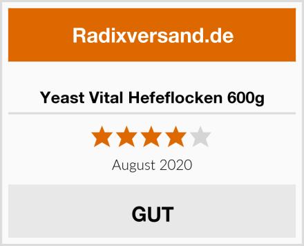 Yeast Vital Hefeflocken 600g Test