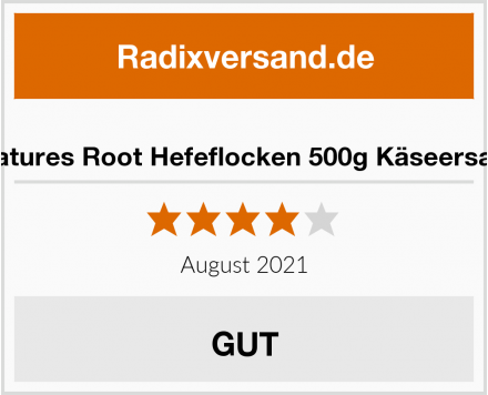 Natures Root Hefeflocken 500g Käseersatz Test