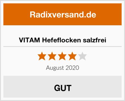 VITAM Hefeflocken salzfrei Test