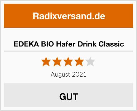 EDEKA BIO Hafer Drink Classic Test