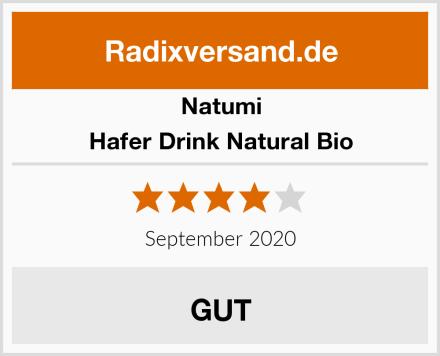 Natumi Hafer Drink Natural Bio Test