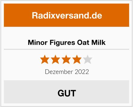 Minor Figures Oat Milk Test
