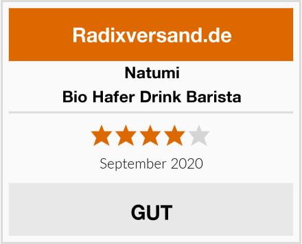 Natumi Bio Hafer Drink Barista Test