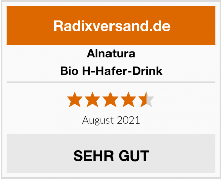 Alnatura Bio H-Hafer-Drink Test