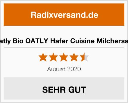 Oatly Bio OATLY Hafer Cuisine Milchersatz Test
