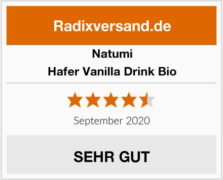 Natumi Hafer Vanilla Drink Bio Test