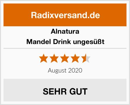Alnatura Mandel Drink ungesüßt Test