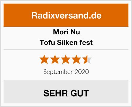 Mori-Nu Tofu Silken fest Test
