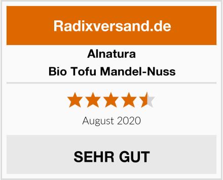 Alnatura Bio Tofu Mandel-Nuss Test