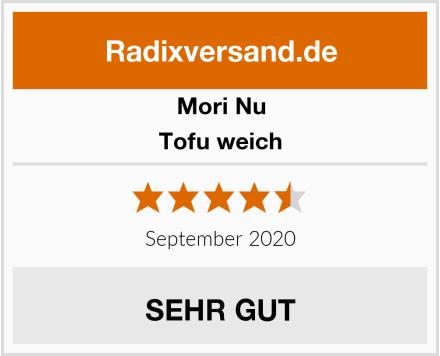 Mori-Nu Tofu weich Test
