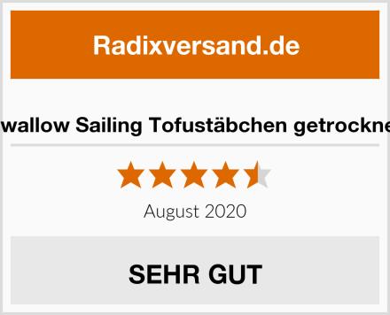 Swallow Sailing Tofustäbchen getrocknet Test