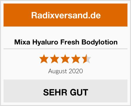 Mixa Hyaluro Fresh Bodylotion Test