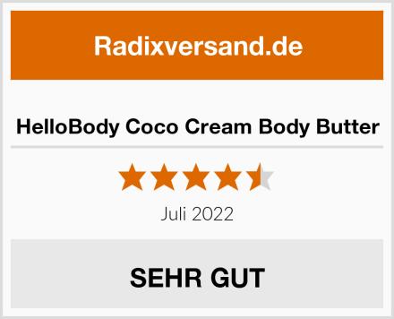 HelloBody Coco Cream Body Butter Test