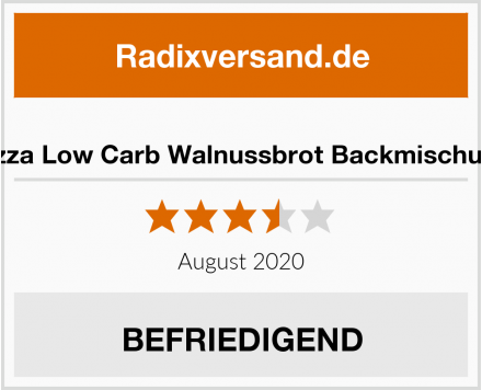 Lizza Low Carb Walnussbrot Backmischung Test
