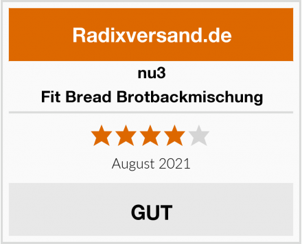 nu3 Fit Bread Brotbackmischung Test