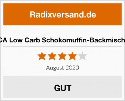 LOCA Low Carb Schokomuffin-Backmischung Test