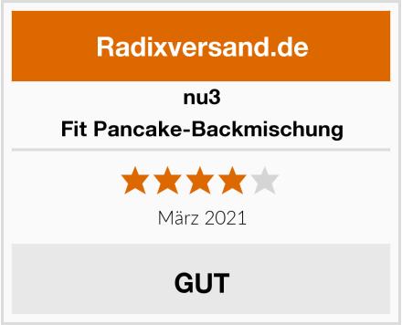 nu3 Fit Pancake-Backmischung Test
