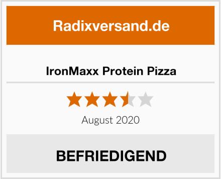 IronMaxx Protein Pizza Test