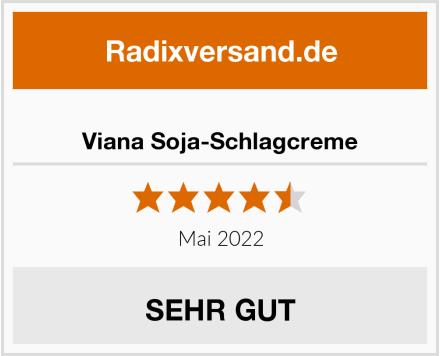 Viana Soja-Schlagcreme Test