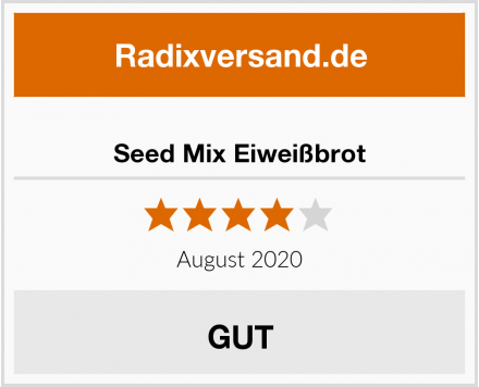 Seed Mix Eiweißbrot Test