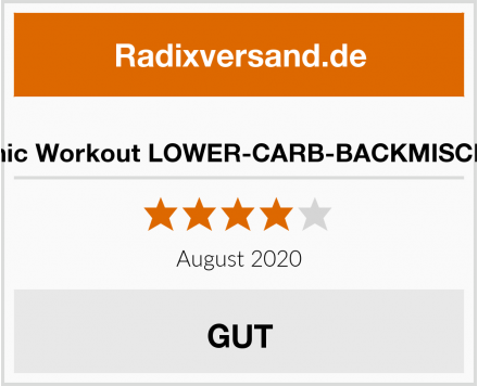 Organic Workout LOWER-CARB-BACKMISCHUNG Test