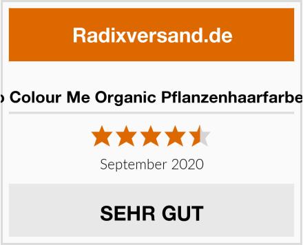 Radico Colour Me Organic Pflanzenhaarfarbe Braun Test