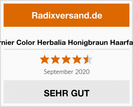 Garnier Color Herbalia Honigbraun Haarfarbe Test