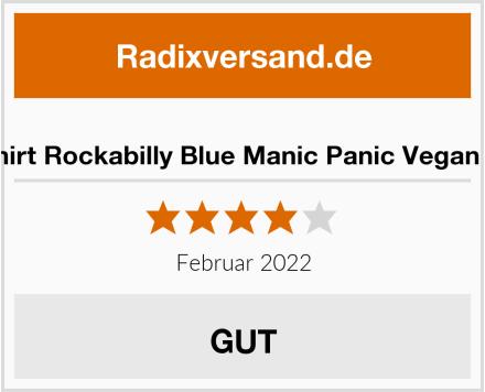 MyPartyShirt Rockabilly Blue Manic Panic Vegan Haarfarbe Test