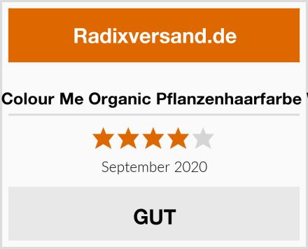 Radico Colour Me Organic Pflanzenhaarfarbe Weinrot Test