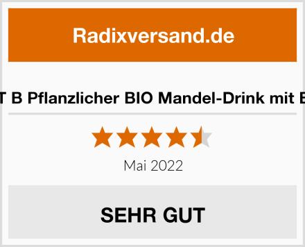 PLANT B Pflanzlicher BIO Mandel-Drink mit Beeren Test